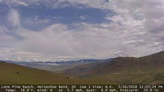 view from Horseshoe Bend, Idaho CAM1 on 2018-05-16