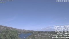 view from 1 Sotra island, W-Norway on 2018-07-07
