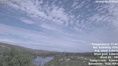 view from 1 Sotra island, W-Norway on 2018-07-08