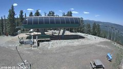 view from Angel Fire Resort - Chile Express on 2018-06-25