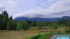 view from Olympic View Cabins Hurricane Ridge Cam on 2018-07-08