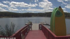 view from Angel Fire Resort - Monte Verde Lake on 2018-06-18