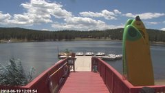 view from Angel Fire Resort - Monte Verde Lake on 2018-06-19