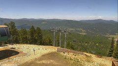 view from Angel Fire West View on 2018-06-18