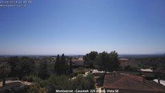 view from Montserrat - Casadalt (Valencia - Spain) on 2018-06-21