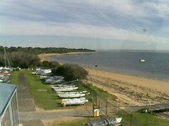 view from Cowes Yacht Club - West on 2018-06-22