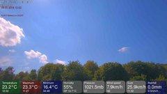 view from MeteoLive webcam SEREMANGE ERZANGE FR57 on 2018-07-09