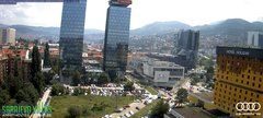 view from Sarajevo on 2018-06-20