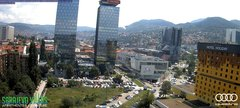 view from Sarajevo on 2018-06-21