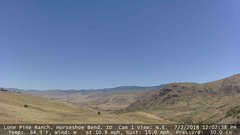 view from Horseshoe Bend, Idaho CAM1 on 2018-07-02