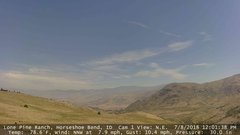 view from Horseshoe Bend, Idaho CAM1 on 2018-07-08