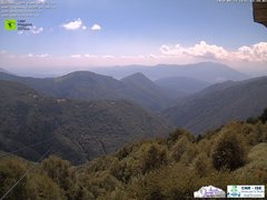 view from Lago Maggiore Zipline on 2018-06-25