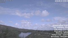 view from 1 Sotra island, W-Norway on 2018-08-20