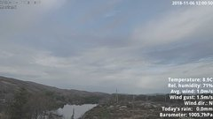 view from 1 Sotra island, W-Norway on 2018-11-06