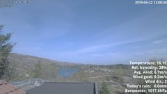 view from 1 Sotra island, W-Norway on 2019-04-22