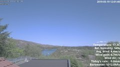 view from 1 Sotra island, W-Norway on 2019-05-19