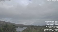 view from 1 Sotra island, W-Norway on 2019-08-19