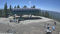view from Angel Fire Resort - Chile Express on 2018-07-18