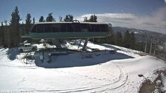 view from Angel Fire Resort - Chile Express on 2018-11-08