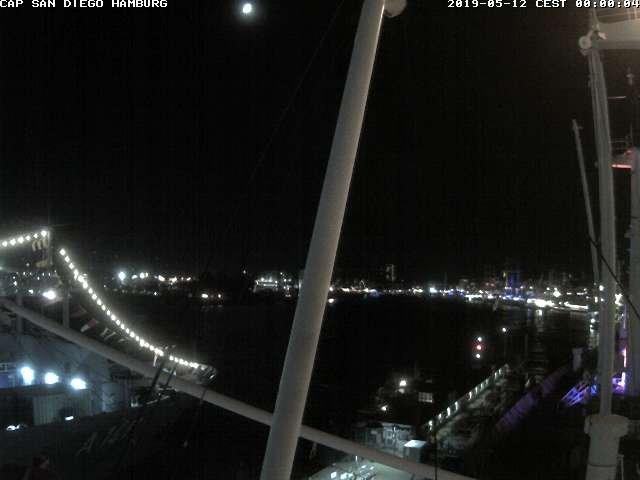 time-lapse frame, Cap San Diego webcam