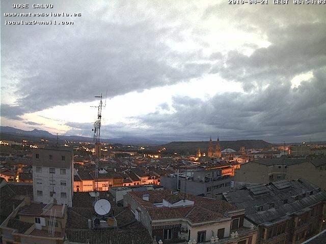 time-lapse frame, LOGROÑO CENTRO webcam