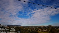 view from MeteoReocín on 2018-10-15