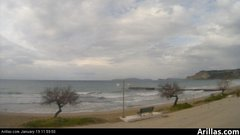 view from Arillas Corfu Live Webcam on 2019-01-19
