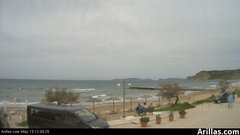 view from Arillas Corfu Live Webcam on 2019-05-19