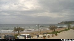 view from Arillas Corfu Live Webcam on 2019-05-20