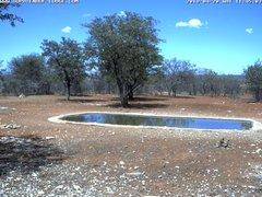 view from Sophienhof Lodge Waterhole on 2019-04-20