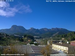 view from Callosa d'en Sarrià - Aitana on 2019-01-07