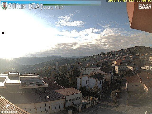 time-lapse frame, Silius webcam
