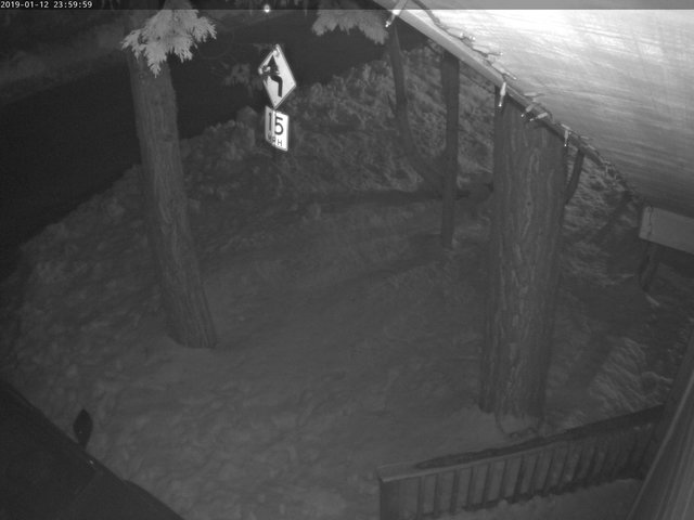 time-lapse frame, Tahoe Woods webcam