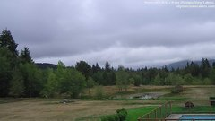 view from Olympic View Cabins Hurricane Ridge Cam on 2018-09-12