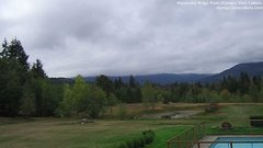 view from Olympic View Cabins Hurricane Ridge Cam on 2018-09-25