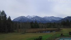 view from Olympic View Cabins Hurricane Ridge Cam on 2018-12-15
