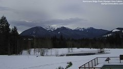 view from Olympic View Cabins Hurricane Ridge Cam on 2019-03-11