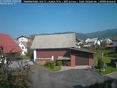view from VREME ŽIRI-cam-1-SV on 2018-10-11