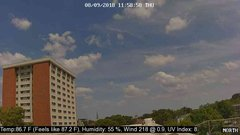 view from University Place Apartments - North Weather on 2018-08-09