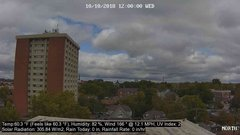 view from University Place Apartments - North Weather on 2018-10-10