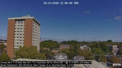 view from University Place Apartments - North Weather on 2018-10-11