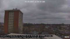 view from University Place Apartments - North Weather on 2019-03-20