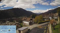 view from Valle Vigezzo on 2019-04-15