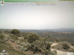 view from Villasalto on 2018-07-14