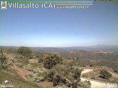 view from Villasalto on 2018-07-18