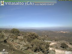 view from Villasalto on 2018-09-23