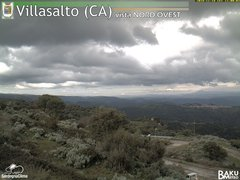 view from Villasalto on 2018-11-18