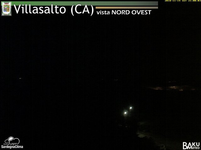 time-lapse frame, Villasalto webcam