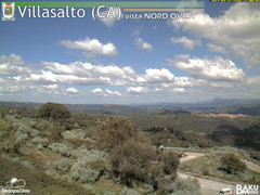 view from Villasalto on 2019-04-15