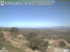 view from Villasalto on 2019-08-14
